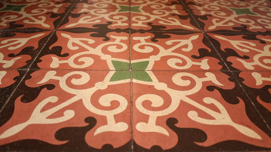 suelo habitación antiguo