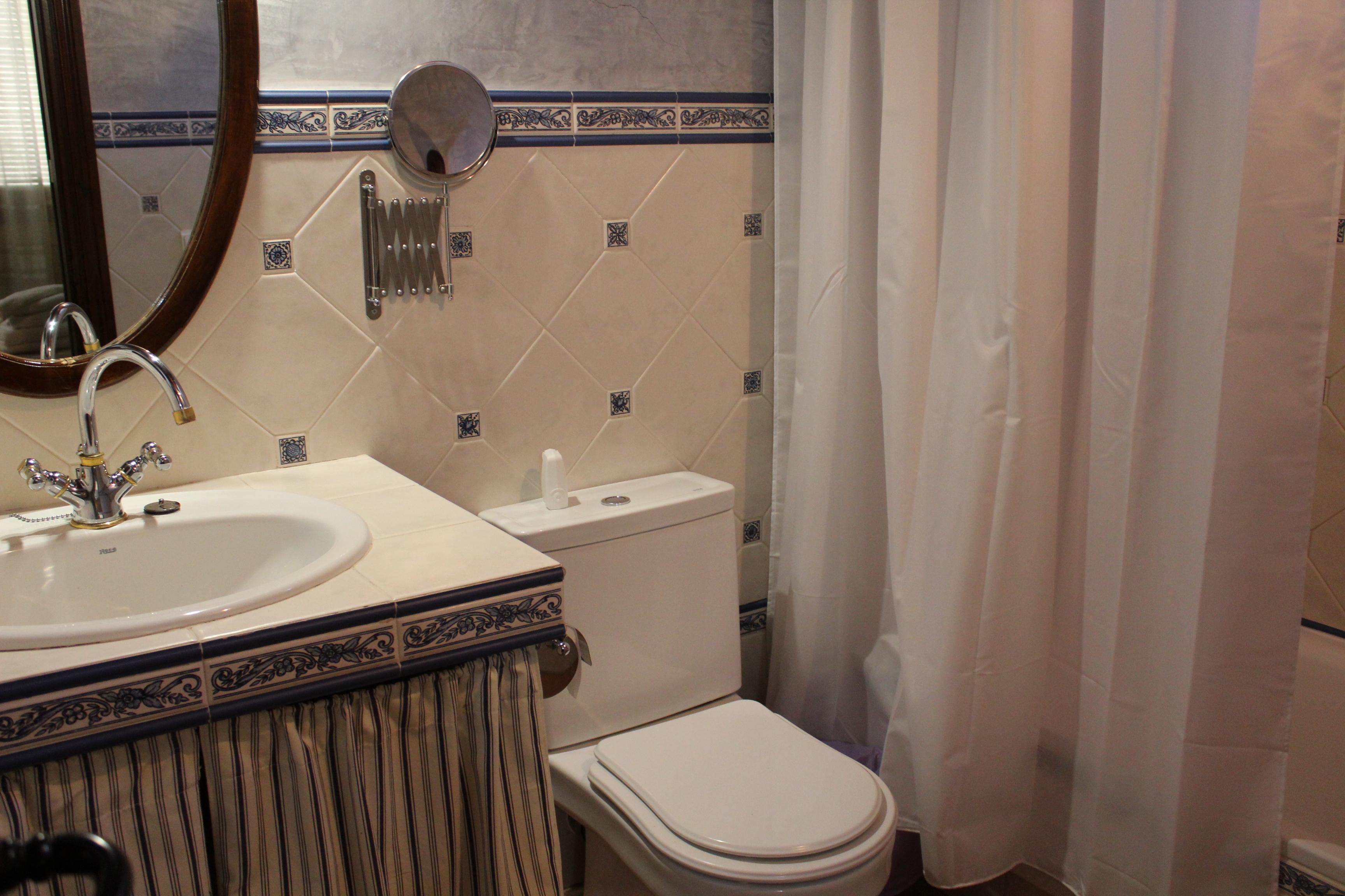 baño apartamento arríate