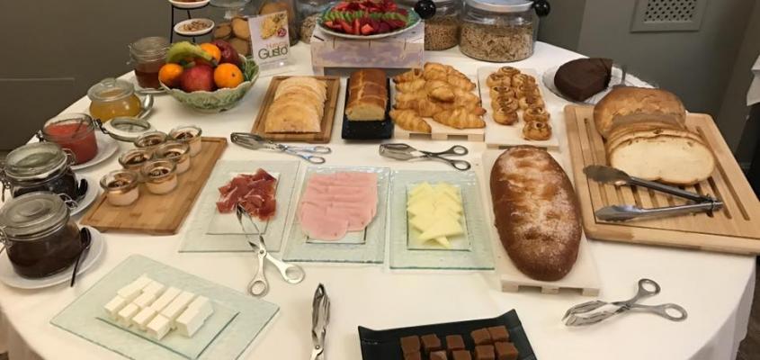desayuno Hotel la vida de antes